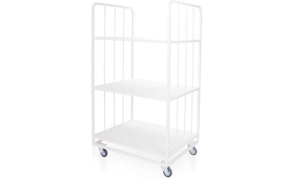 Kod - 21 Triple Rack With Wheels
