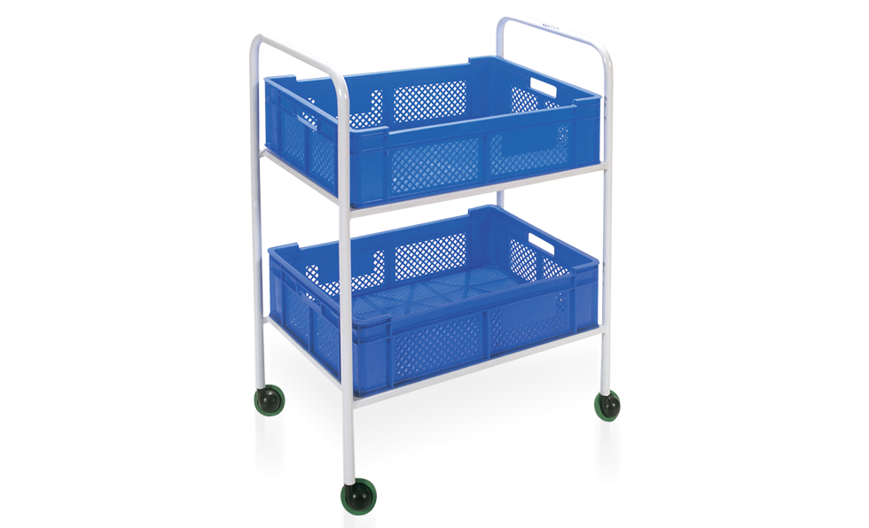 Kod - 20 Carriage With Double Basket